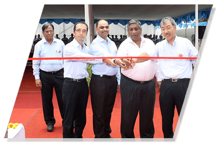 100th EX 1200 V Handing Over to UltraTech Cements