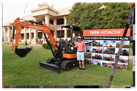 Tata Hitachi World Corporate Golf Delhi Bangalore 2017