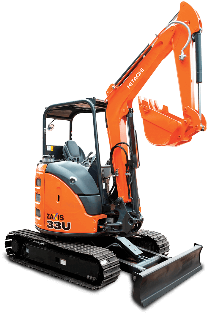 Mini Excavators Hitachi