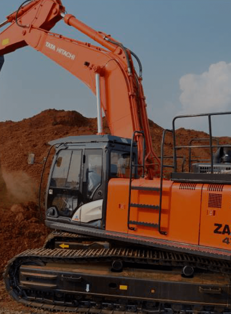 Mining Excavator for High Level Performance | Tata Hitachi