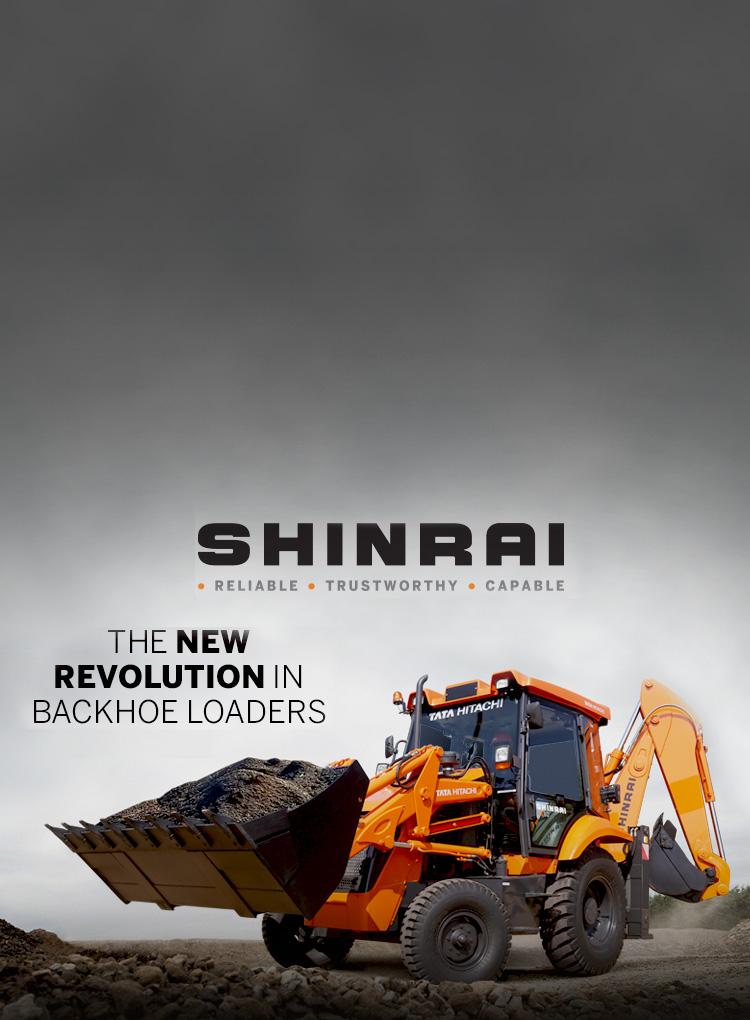 Shinrai Backhoe Loaders