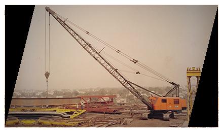 Construction Work Tata Hitachi