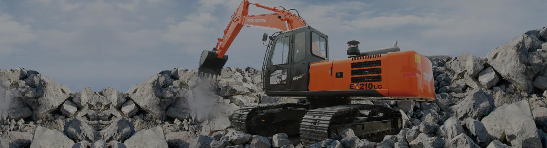 EX 210 Construction Excavator