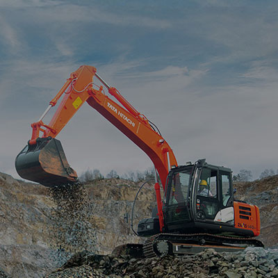 Excavator with Hydraulic System for Easy Operations | Tata