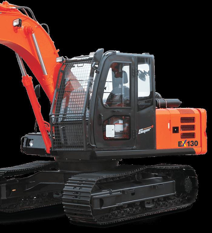 Construction Excavators Hitachi