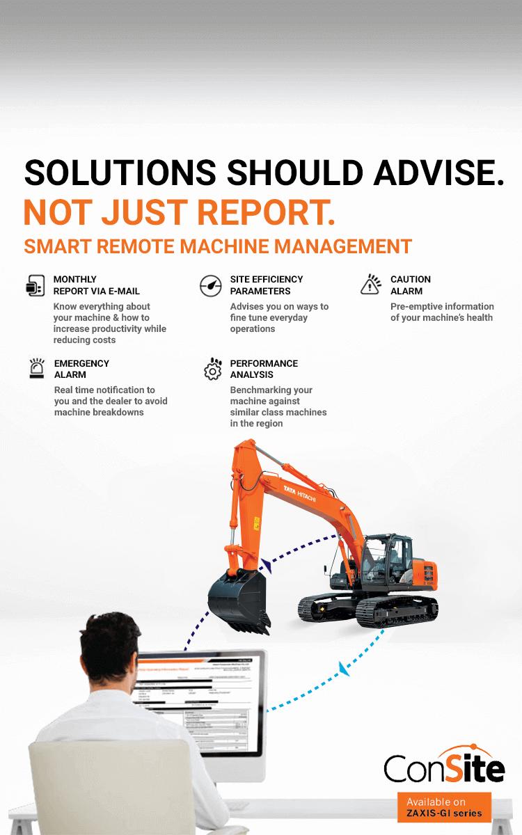 Tata Hitachi Machine Management