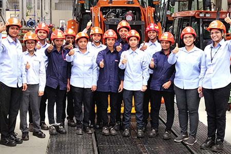 Women Employees At Tata Hitachi
