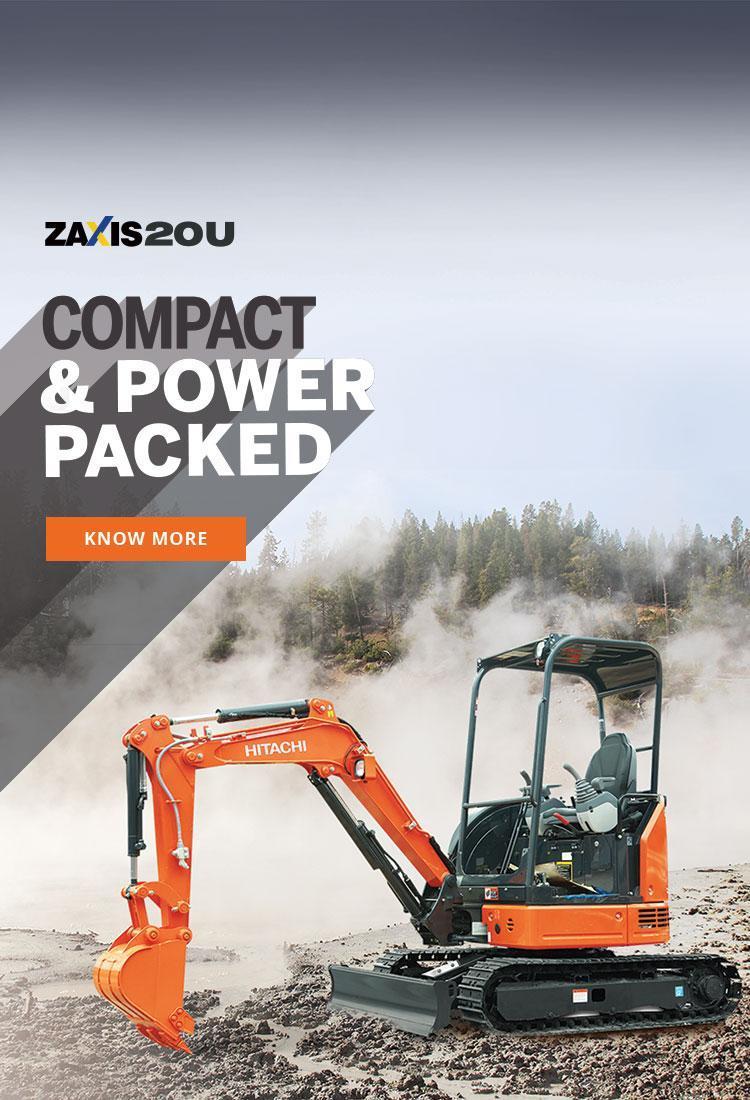 Mini Excavator ZAXIS 20U5A