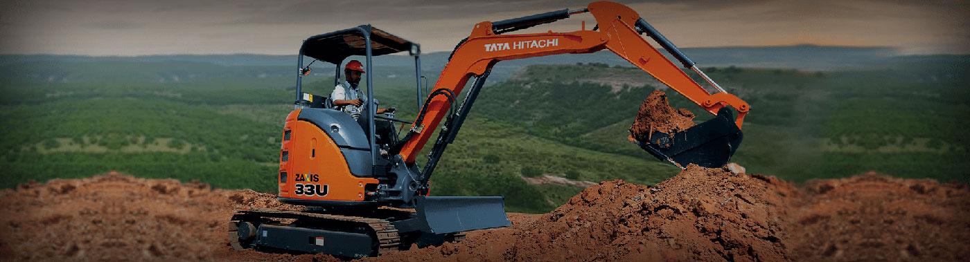 Mini Excavators ZAXIS 33U