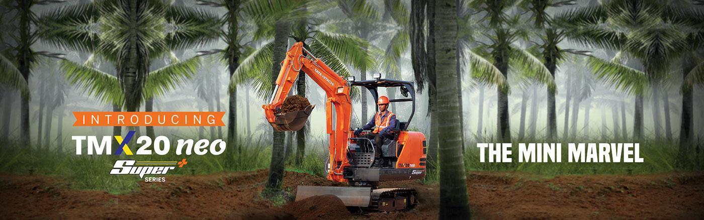 Mini Excavators TMX 20 Neo