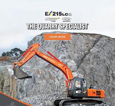 Excavator | Construction & Mining Excavators from Tata Hitachi