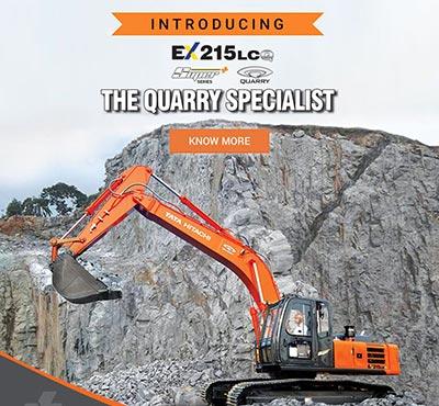EX 215LCQ – The Quarry Specialist