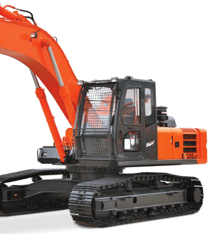 EX 200LC Construction Excavator